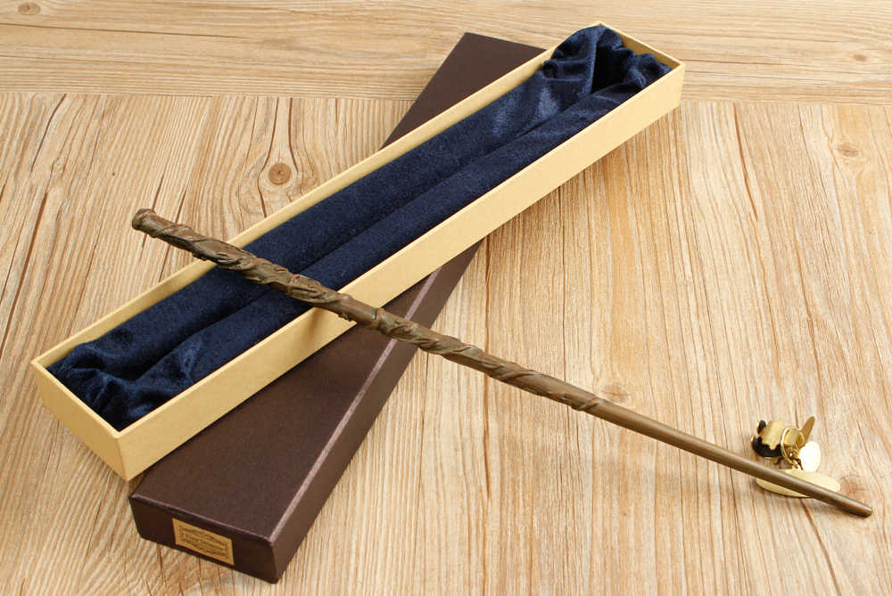New Metal Core Hermione Granger Magic Wand/ Harry Magical Wand/ High Quality Gift Box Packing