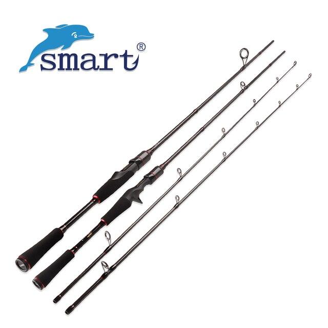 SMART 2Sec 1.8m/2.1m 5-15lb/7-25g Spinning / Casting Fishing Rod Carbon Lure Rods Cane A Peche Olta Stick Vara De Pescar Carbono