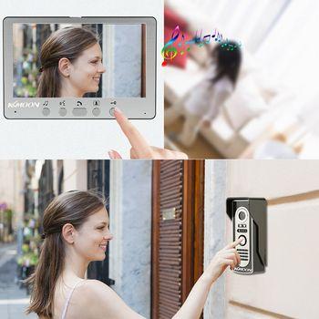Intercom Doorbell System - Waterproof IR Camera