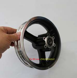 Image 2 - نوعية جيدة 10 بوصة سكوتر كهربائي محور عجلات 10 بوصة جنوط عجلات سبائك الألومنيوم 10x2 10x2.125 10x2.50 10x2.25 الإطارات الحافات