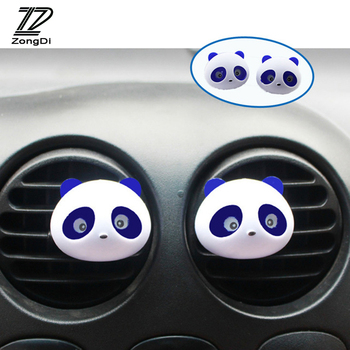 ZD 1Pair Car Air Freshener Outlet Perfumes for Citroen C4 C5 Hyundai Solaris I30 VW Polo T5 Ford Fiesta Fusion Mustang image