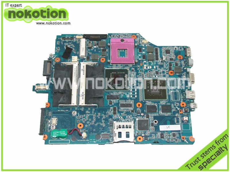 Laptop Motherboard for SONY VAIO VGN-FZ Series MBX-165 A1273690A PM965 NVIDIA G86-750-A2 Intel DDR2 free shipping laptop bottom case for sony vgn fw355j vgn fw378j 013 000a 8129 a