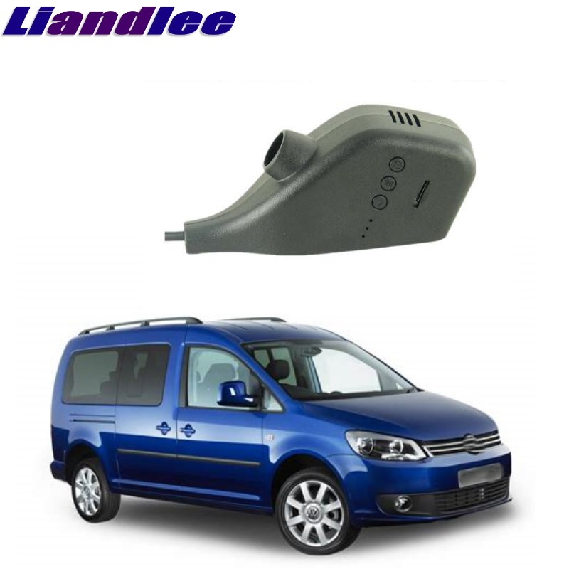 Liandlee For Volkswagen VW Caddy / Rabbit Pickup / Van 2K 2003~2018 Car Black Box WiFi DVR Dash Camera Driving Video Recorder liandlee for volkswagen vw golf mk5 a5 1k mk6 a6 5k mk6 a7 2003 2018 car black box wifi dvr dash camera driving video recorder