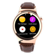 T3 bluetooth smart watch uhr unterstützung sim-karte pedometer fitness tracker mp3-player smartwatch armbanduhr für iphone android