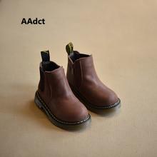 AAdct 2019 Autumn winter New handmade comfortable girls boots leather Martin