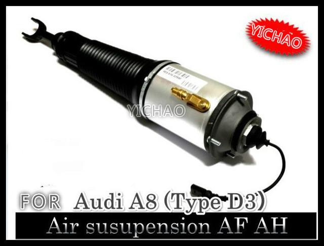Para audi a8 quattro frente de izquierda oem rebuild normal suspensión bolsa de aire puntal