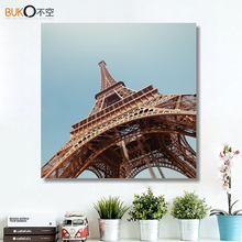 landscape wall papee Canvas Wall art Painting Paris Eiffel Tower City Pictures For Living Room Decoration In Frame art cheap