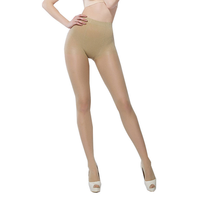 Plus Size Super Elastic Seamless Stockings Magical Tights Shaping Thin Pantyhose