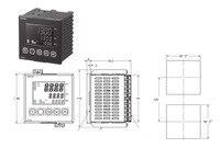 E5AN HAA2HBM 500 AC100 240 высокого функции 1/4Din отказаться от, инструмент частей, термостат