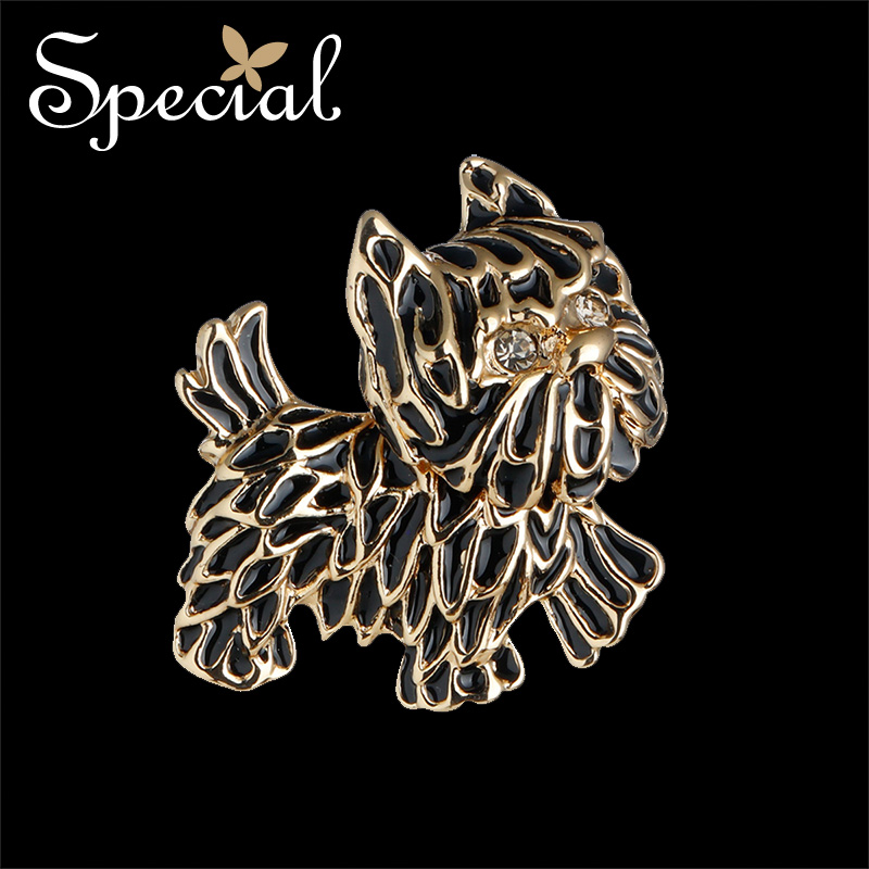 The SPECIAL New Fashion euramerican male and female couples animal brooch pin collar needle silk scarf buckle shawl buckle in Brooches from Jewelry Accessories