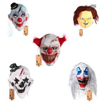 Enge Kostuums Halloween.H D Mannen Enge Clown Masker Volgelaatsmasker Halloween Kostuum