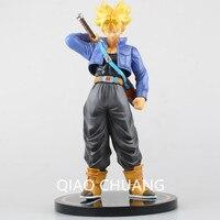 Anime Dragon Ball Z Super Saiyan A Martial Arts World Trunks PVC Action Figure Collectible Model