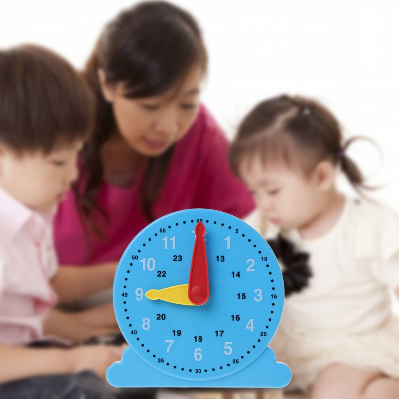 1PC New Scientific Cognition Clock Education Toy Baby Toy Early Learning Kids Toy-M22