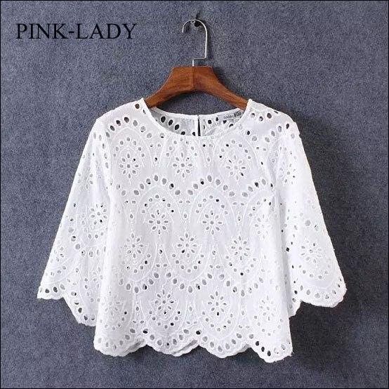 verano camisa de la blusa de las mujeres de la media manga o cuello hollow ganc