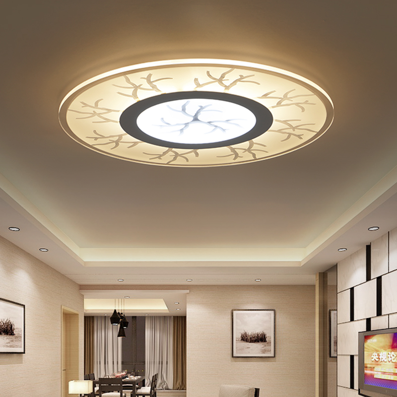 led ceiling lights acrylic design kitchen light lamparas de fixtures