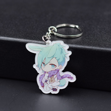 7 Styles LOVE 1000% Keychain Keyrings Fashion Jewelry Key Chain Hot Sale Custom made Anime Key Ring FQ1