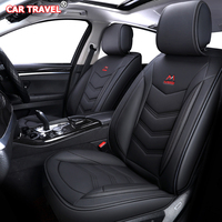 Luxury Leather car seat covers for Subaru Tribeca Legacy Outback Impreza Forester Legacy Wagon Automobiles Seat Covers