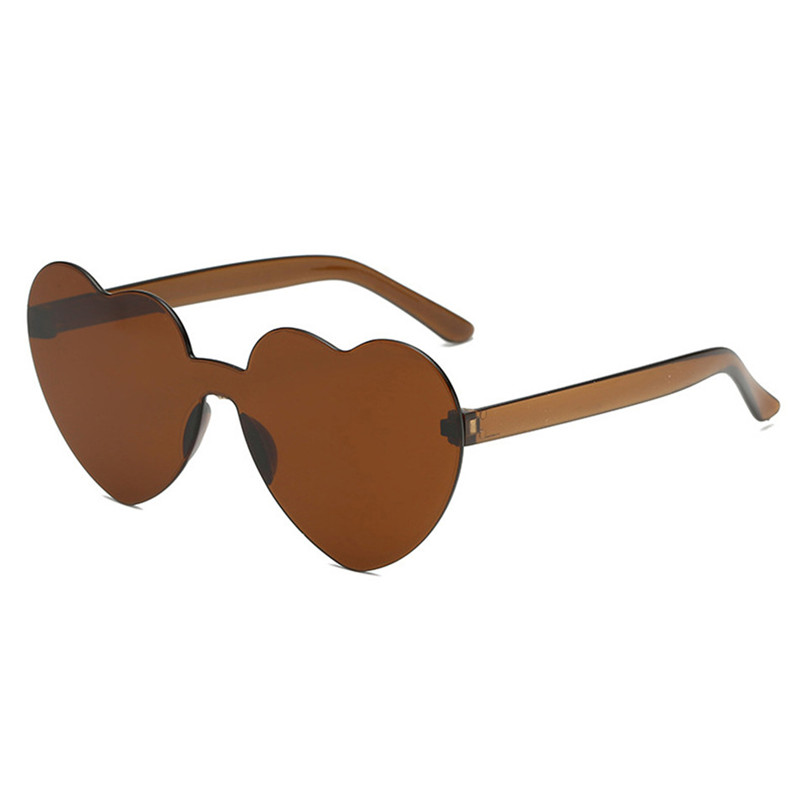 TTLIFE Red Heart Sunglasses For Women Pink Candy Eyewear Simple Personality Sun Glasses Female 2019 New Gafas De Sol YJHH0194 in Women 39 s Sunglasses from Apparel Accessories