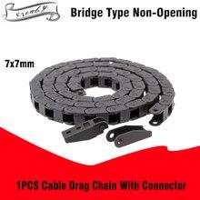 R15 7x7 мм 7*7 мм L1000мм кабель Цепной провода Перевозчик с концевыми соединителями