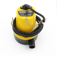 24V 50W BL2524N Bilge Pump 3m3/h small DC Submersible water pump for Fountain garden irrigation swimming pool cleaning farming