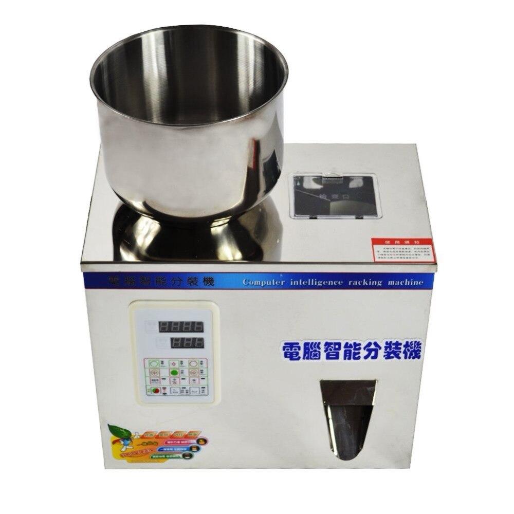 2-200g Petite granule machine d'emballage, thé machine de pesage, poudre machine de remplissage