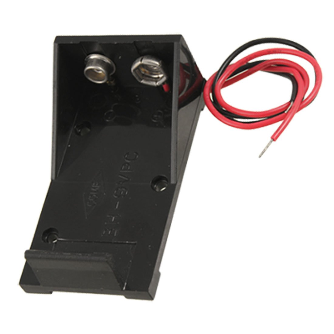WITH HARD PLASTIC COVER CONNECTOR LEADS 10 x PP3  BATTERY CLIPS