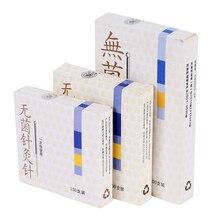 100 шт., одноразовые стерильные иглы для иглоукалывания, для лечения лица