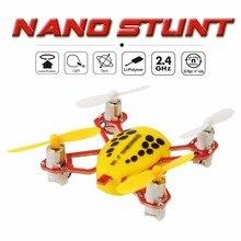 Et nano mini drone 2.4g rc toys 4ch 6 axis rc quadcopter rc bolsillo helicópteros 30 km/h de velocidad de una tecla de retorno para niños rc toys vs fq777