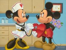 Diamond Embroidery Minnie Nurse Disney Mickey mouse 5d Diy Diamond Painting cross stitch square Full Rhinestone Mosaic picture 5d diy diamond painting cross stitch kits full square diamond embroidery disney mickey minnie mouse rhinestone mosaic pattern