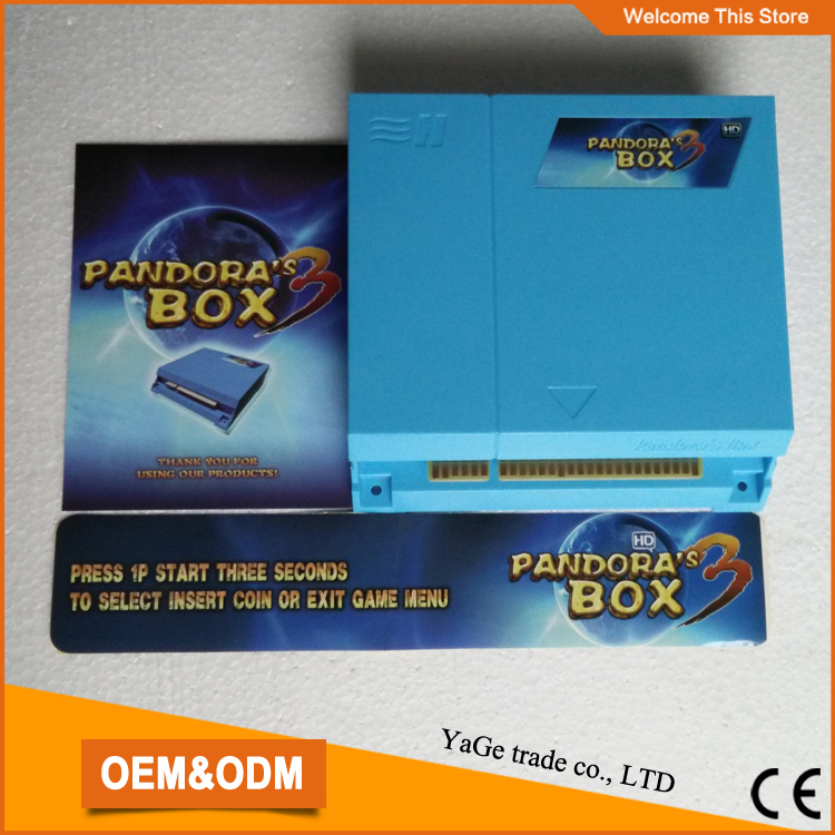 ФОТО Best  price!!! Jamma multi game pcb,  520 in 1 game board VGA OUTPUT Arcade PCB Just Another Pandora's Box 3