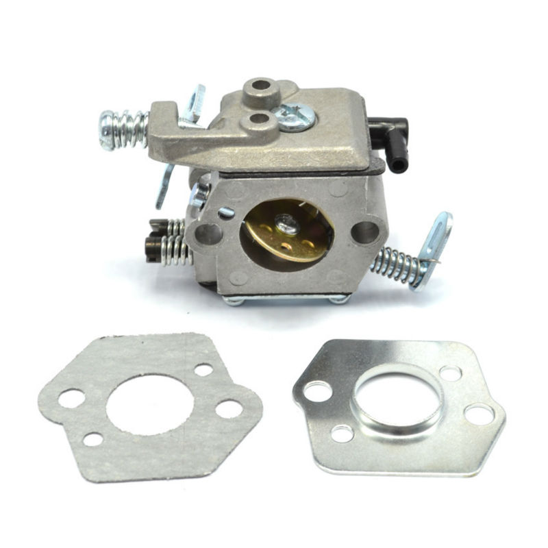 Chainsaw Carburetor Carbs Walbro with Gasket Metal Plate Shim for Stihl 021 023 025 MS210 MS230 MS250 Parts 42 5mm cylinder piston for stihl 023 025 ms230 ms250 crankshaft carburetor carb with gasket chainsaw engine