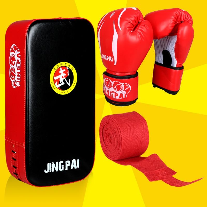 Taekwondo 1 Set MMA Kicking Pad Pinceau Punch Punch Mitts Muay Thai