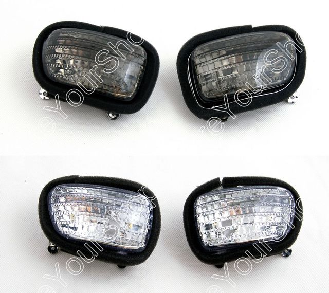 Areyourshop For Honda GL1800 Goldwing 2001-2010 Motorcycle Replacement Front Turn Signals Light Lens Certified Blinker Cover