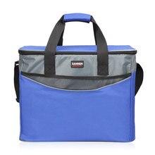 34L большая оксфордская теплоизоляционная посылка для пикника, переносные Контейнерные Сумки, посылка для растений, изолированная сумка для еды, сумки-холодильники