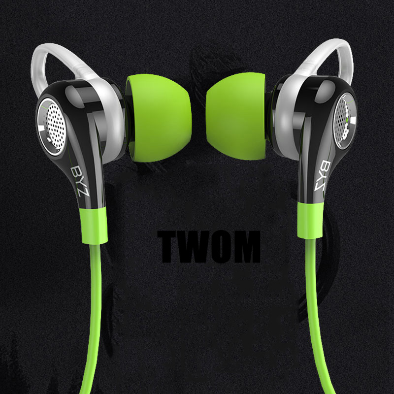 BYZ K38 Sport In Ear Earphones for Mobile Phone Stereo Running Earbuds with Mic DJ BASS Earphone HiFi Headset Universal Wired s купить