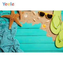 Yeele Ocean Shell Swimsuit Simple Wood Board Planks Fashion Show Photography Backgrounds Photographic Backdrops For Photo Studio