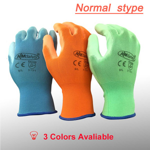 Image 5 - NMSAFETY 12 pairs Working Protective Glove Men Flexible Nylon or Polyester Safety Work Gloves