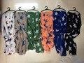 Forme la estrella de impresión lateral de la raya bufanda mujeres chal estrella patrón , láminas 180 * 100 cm envío gratis