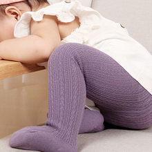Infant Soft Cotton Baby Girl Tights Newborn Casual Solid Warm Tights Kid Dancing Pantyhose Baby Stockings