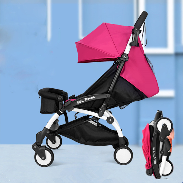 Fashion newborn bebek arabas ultra-lightweight folding children baby stroller for boys girls baby carriage baby pram