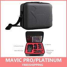 Dla Mavic Pro futerał do przenoszenia twarda osłona worek do przechowywania Mavic Pro kamera drona i inteligentny kontroler Box