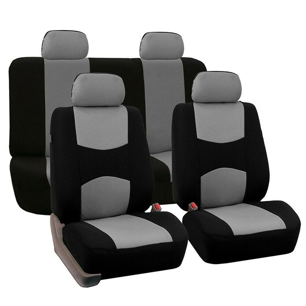 9pcs Universal Car Seat Cover Cloth Art Auto Interior Decoration Protect Covers for Four Seasons in Automobiles Seat Covers from Automobiles Motorcycles