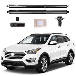Dla Hyundai Santa fe elektryczna klapa tylna  czujnik nóg  automatyczna klapa tylna  modyfikacja bagażu  artykuły motoryzacyjne