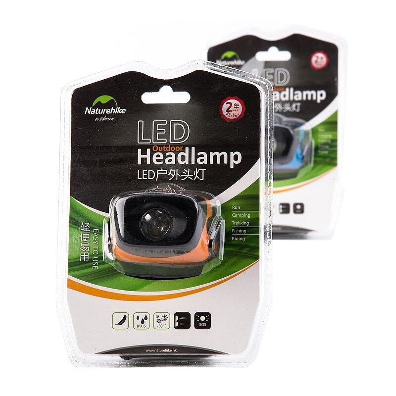 Naturehike Ultralight Outdoor LED Headlamp Camping Headlamp Waterproof NH00T001-D