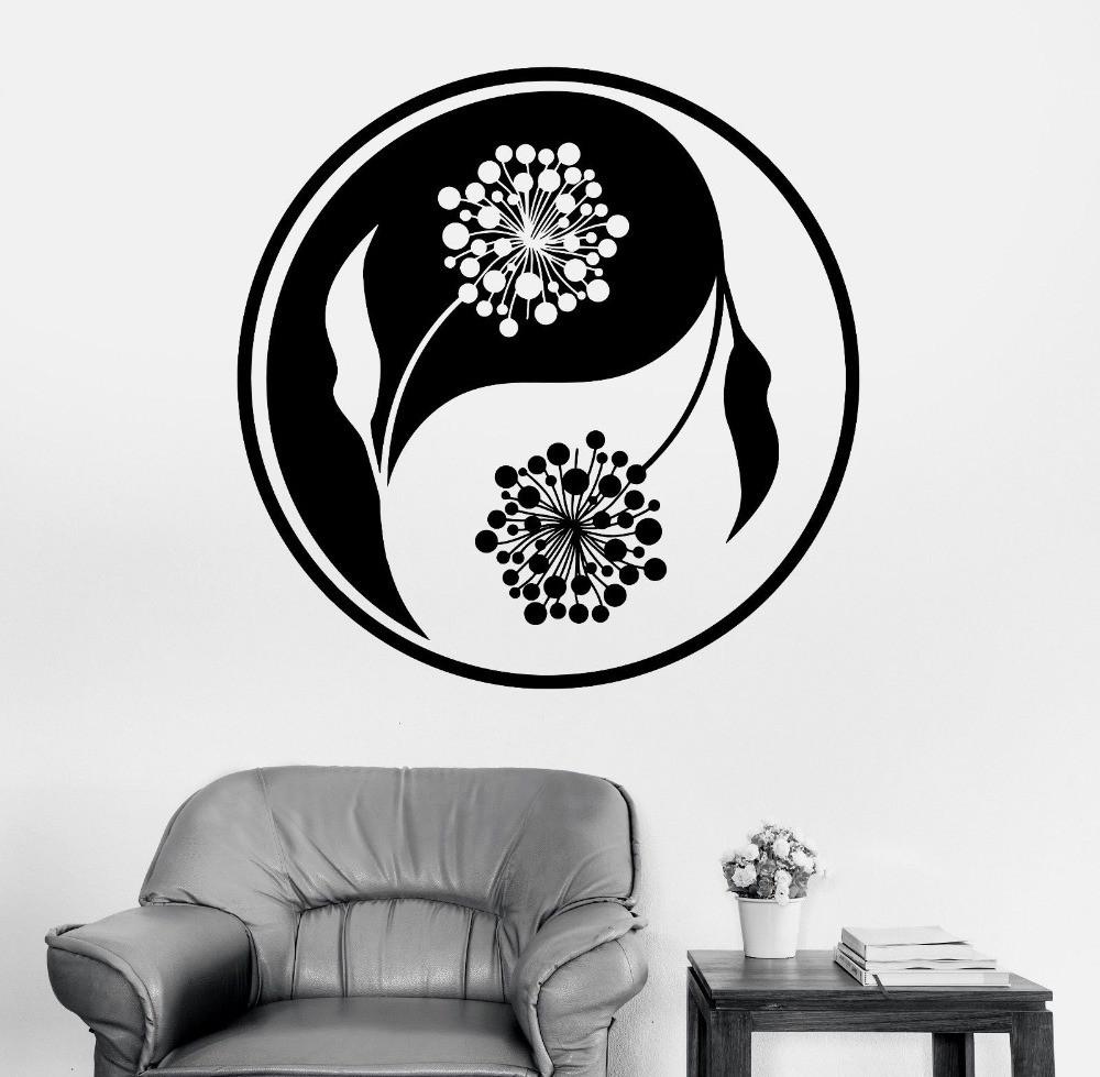 Mandala-Wall-Sticker-Home-Decal-Buddha-Yin-Yang-Floral-Yoga-Meditation-Vinyl-Decal-Wall-Art-Mural (3)