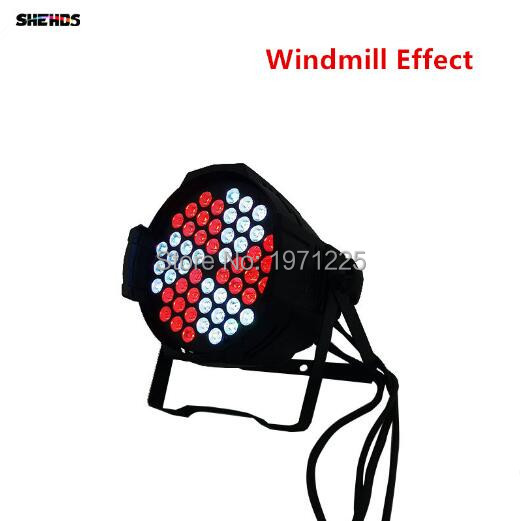 2018 Hottest 3in1 Led DMX 54x9W Par Can Windmill Business Light Professional Par Can rgb Windmill for Party Disco DJ Uplighing