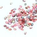 10 Шт./лот 3D Nail Art Украшения Природные Камни Овальные Рок Клей Вина 4*6 ММ Дизайн Для DIY Ногтей аксессуары PJ331