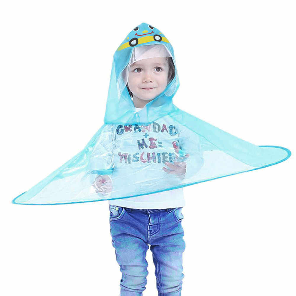 Detail Feedback Questions about Cute Boys Girls Rain Coat UFO Children  Umbrella Hat Magical Hands Free Raincoat Foldable Portable Cartoon Stylish  Raincoats ... b0af8d8aa1be
