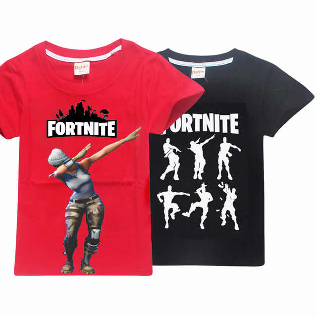a27555a0e8a comfortable Summer T Shirts Fortnite Battle Royale Legend Gaming Pattern  Tops Baby Girls Boys T-shirt Kids Clothes 8 12 14 Years