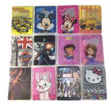 Cartoon Sofia Travel Passport Cover Bag Cute Credit Card Id Holders Men Women Card Holder High Quality new pu leather passport cover holder women men travel credit card holder travel id card document passport holder